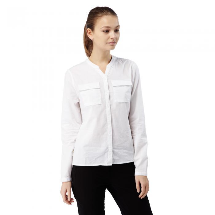 Ravello Long Sleeved Shirt Optic White