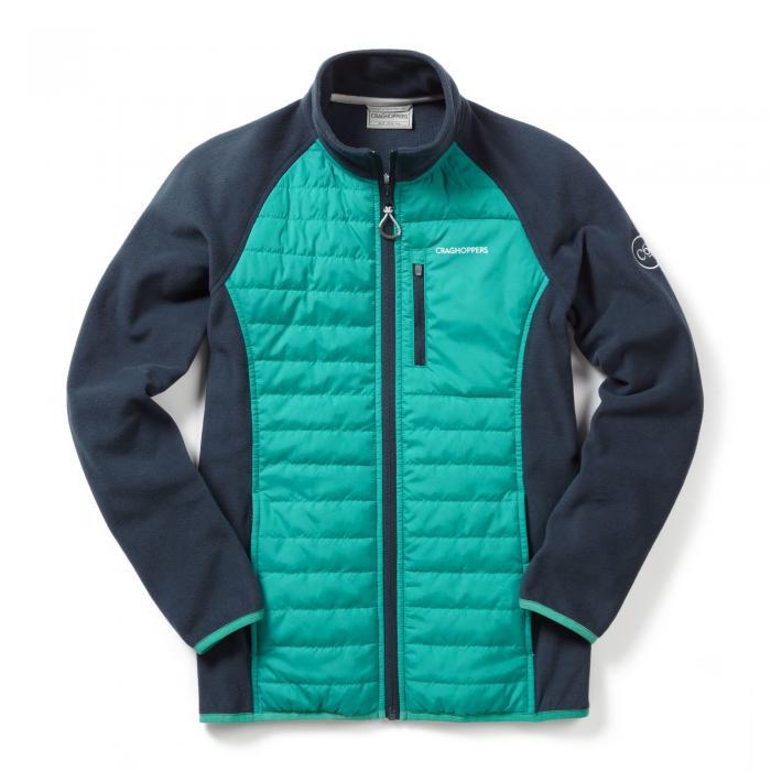 C65 Hybrid Jacket Turquoise Navy