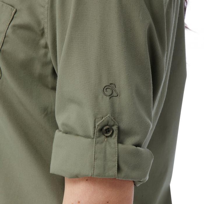 Kiwi Long Sleeved Shirt Soft Moss