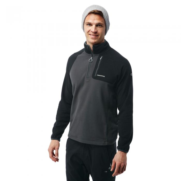 Salisbury Half Zip Black Pepper