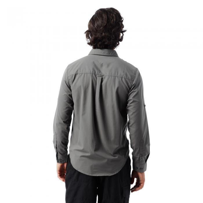 Kiwi Trek Long Sleeved Shirt Ashen