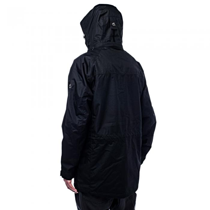 Kiwi Long Interactive Jacket Black