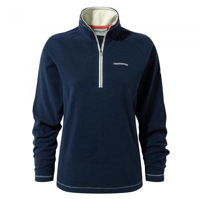 Seline Half Zip Night Blue