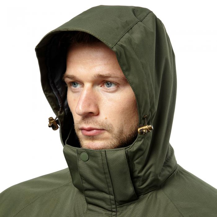 Kiwi Long Interactive Jacket Parka Green