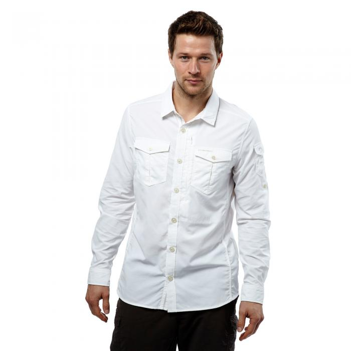 NosiLife Adventure Long Sleeved Shirt Optic White