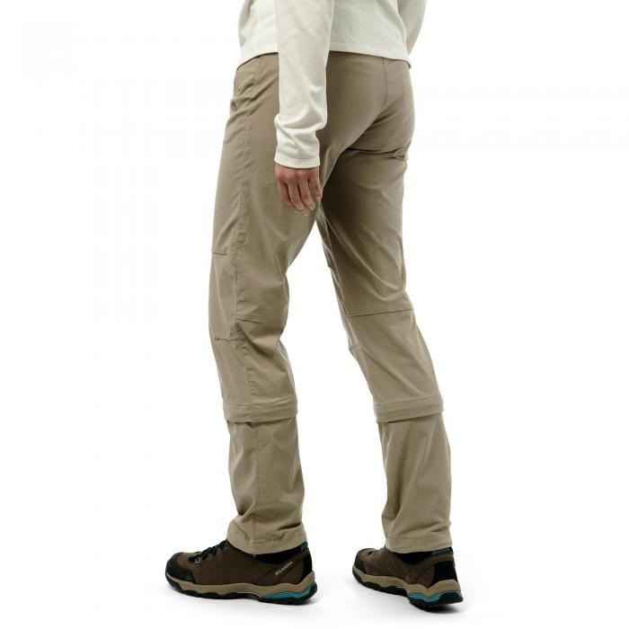NosiLife Pro Capri Convertible Trousers Mushroom