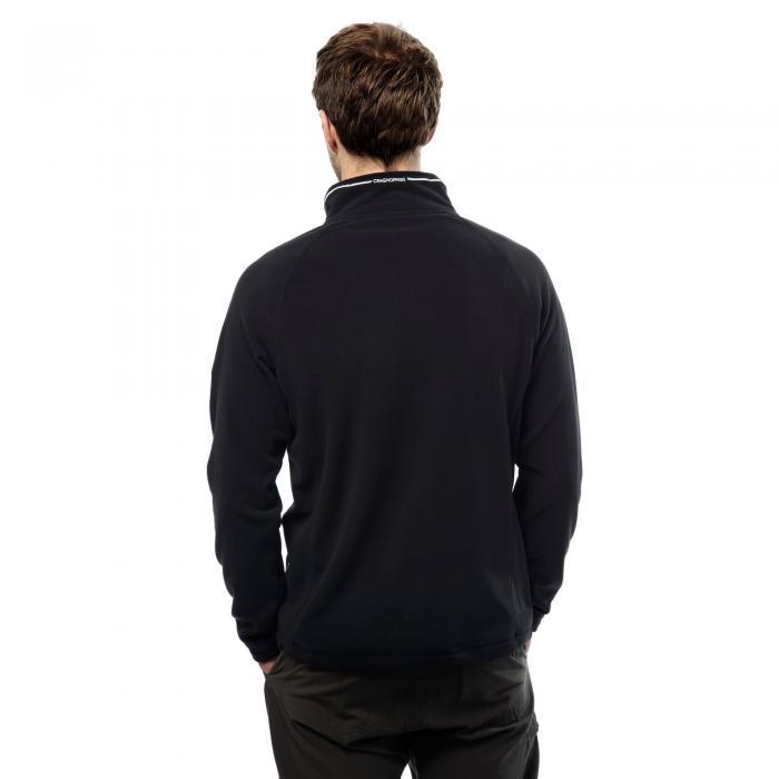 Selby Half Zip Black