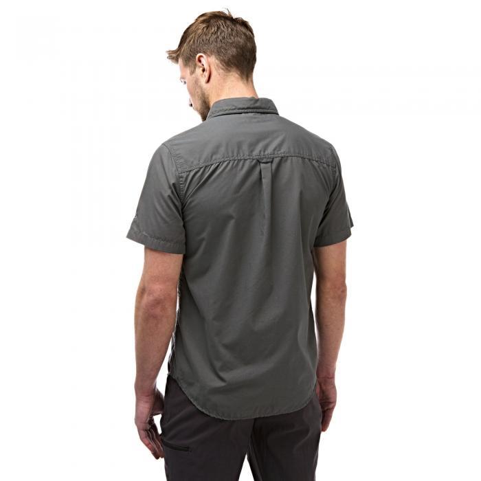 Kiwi Trek Short Sleeved Shirt Ashen