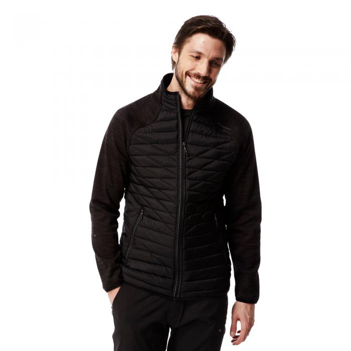 Midas Hybrid Jacket Black