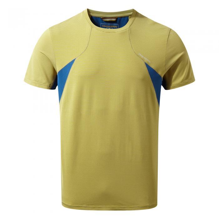 Fusion Short Sleeved T-Shirt Sulphur Yellow
