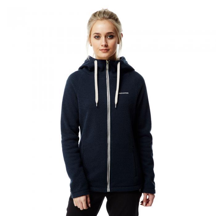 Lindell Hood Jacket Night Blue