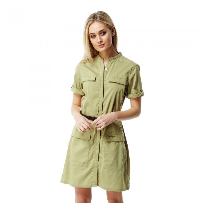 NosiLife Symone Dress Soft Khaki