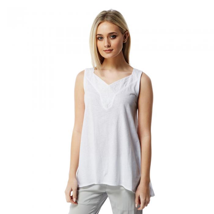 Scarlett Vest Optic White