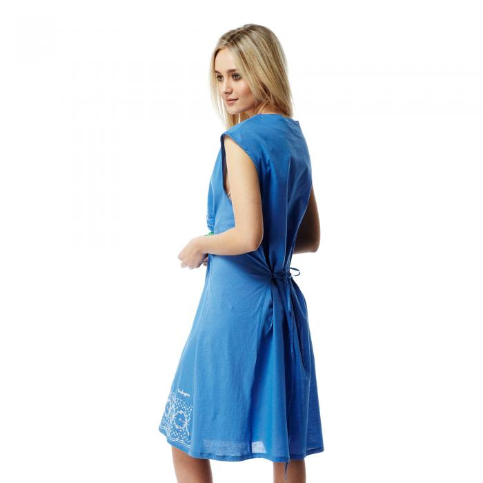 Scarlett Dress Bluebell