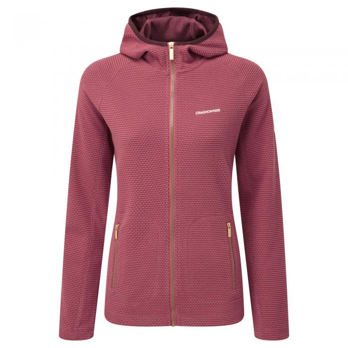 Hazelton Hooded Jacket Rosehip Pink