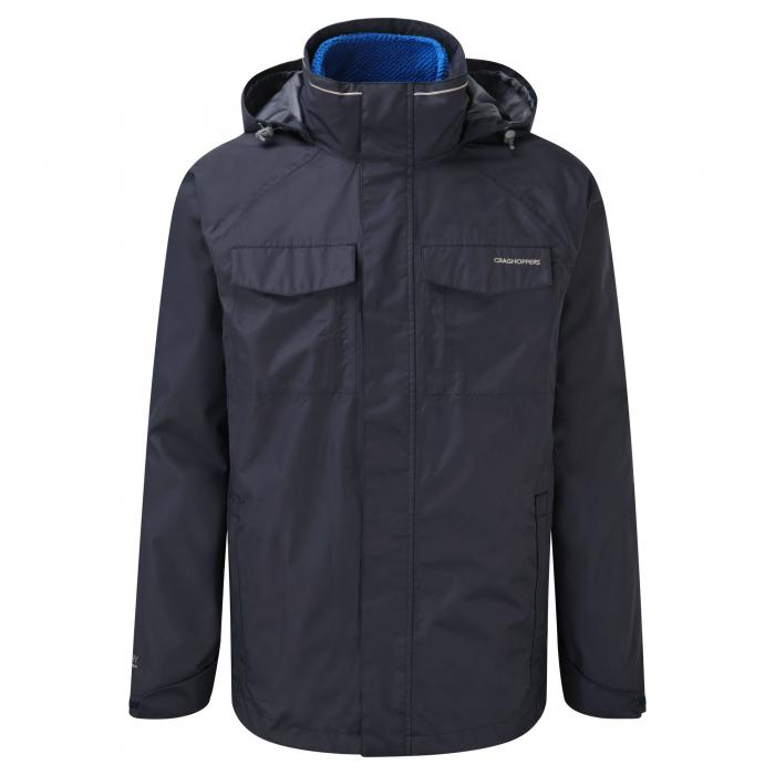 Wheeler 3 in 1 Jacket Dark Navy/China