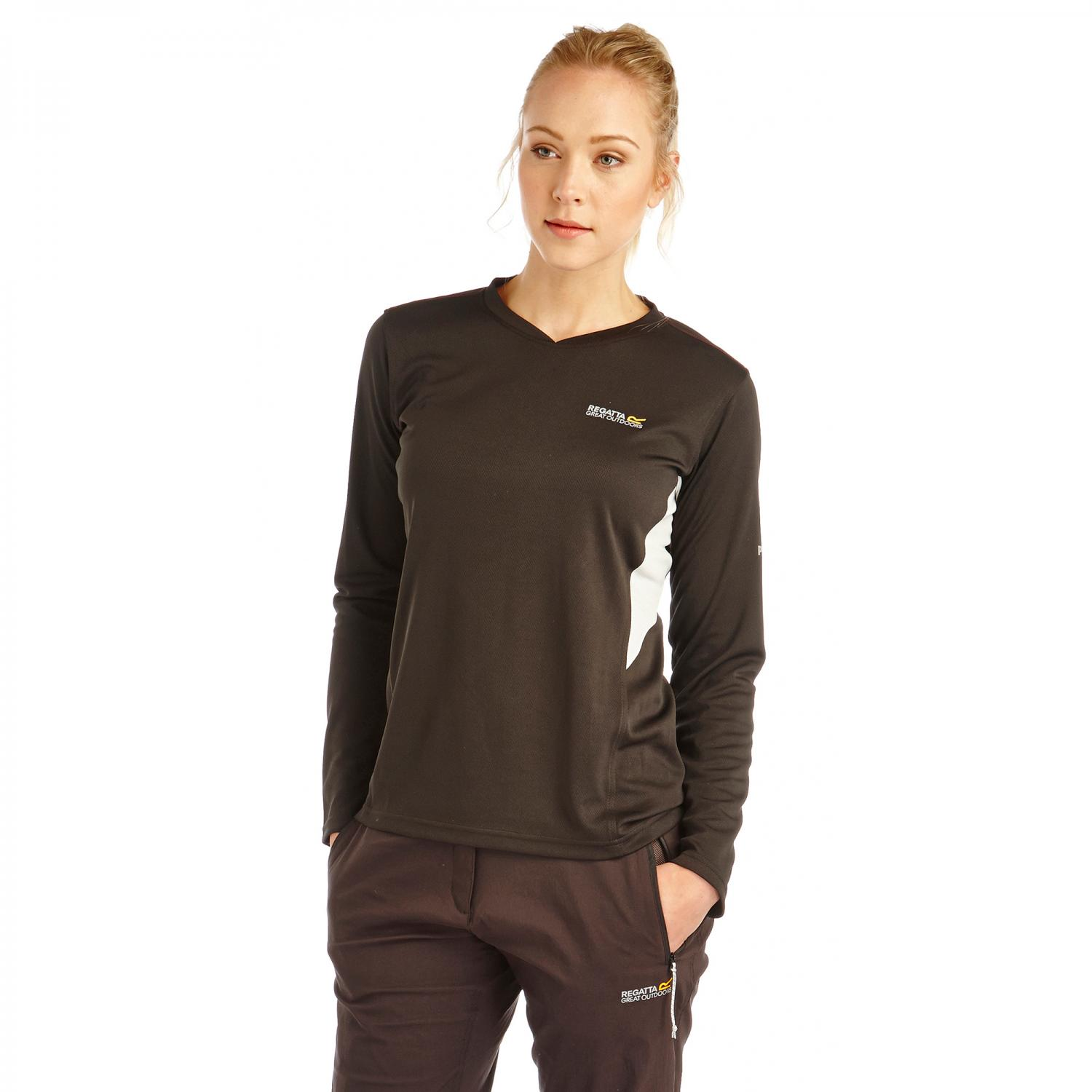 Womens Froswick Long Sleeve T-Shirt Black
