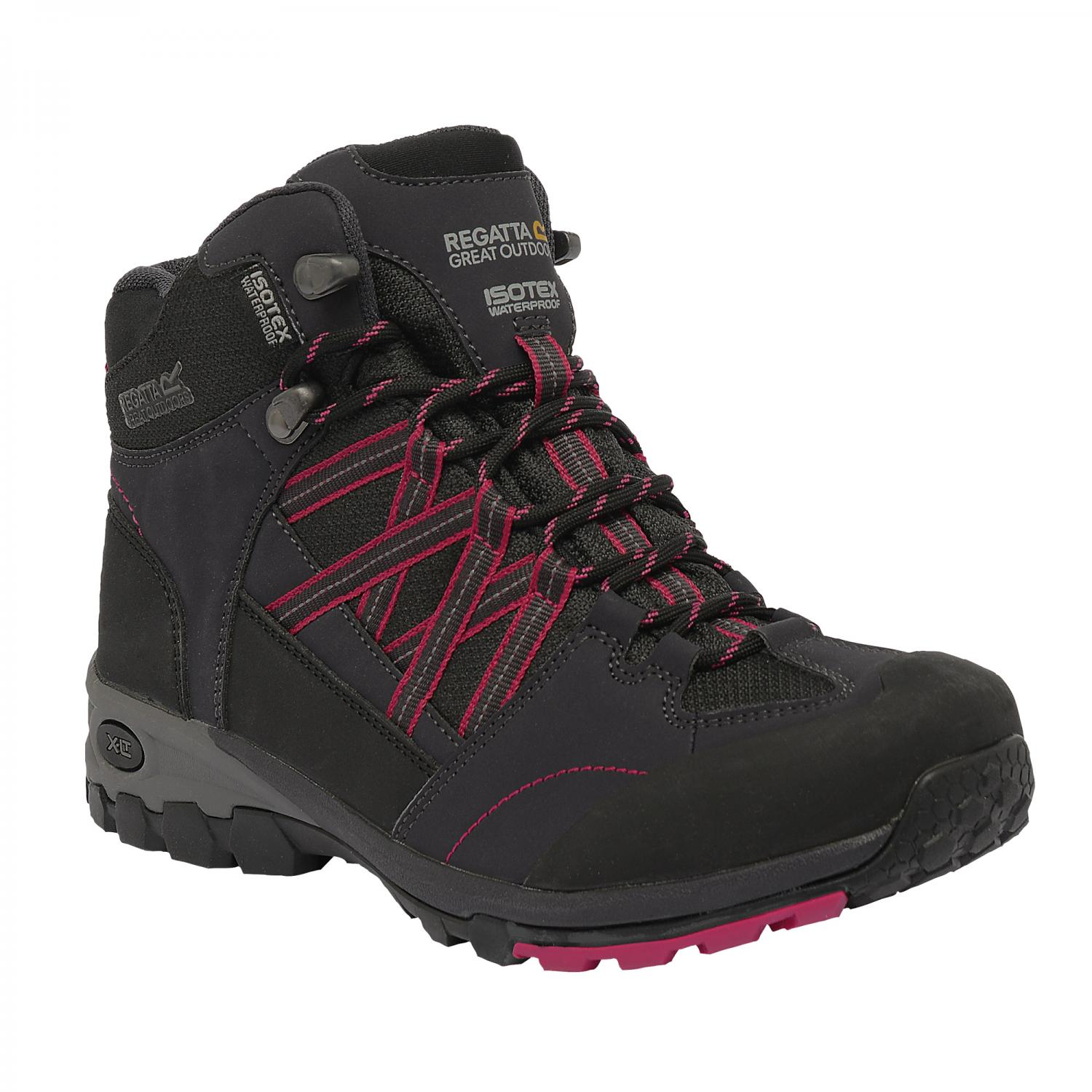 Lady Samaris Mid Hiking Boot Briar Cerise