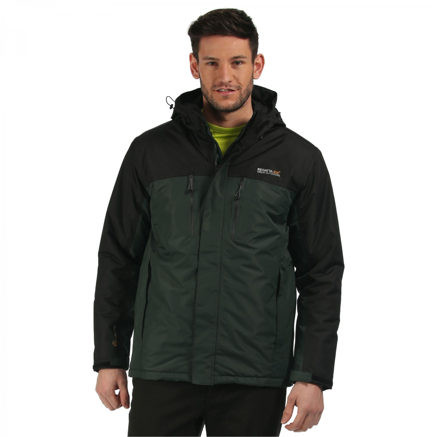 Fabens Jacket Dark Spruce Black