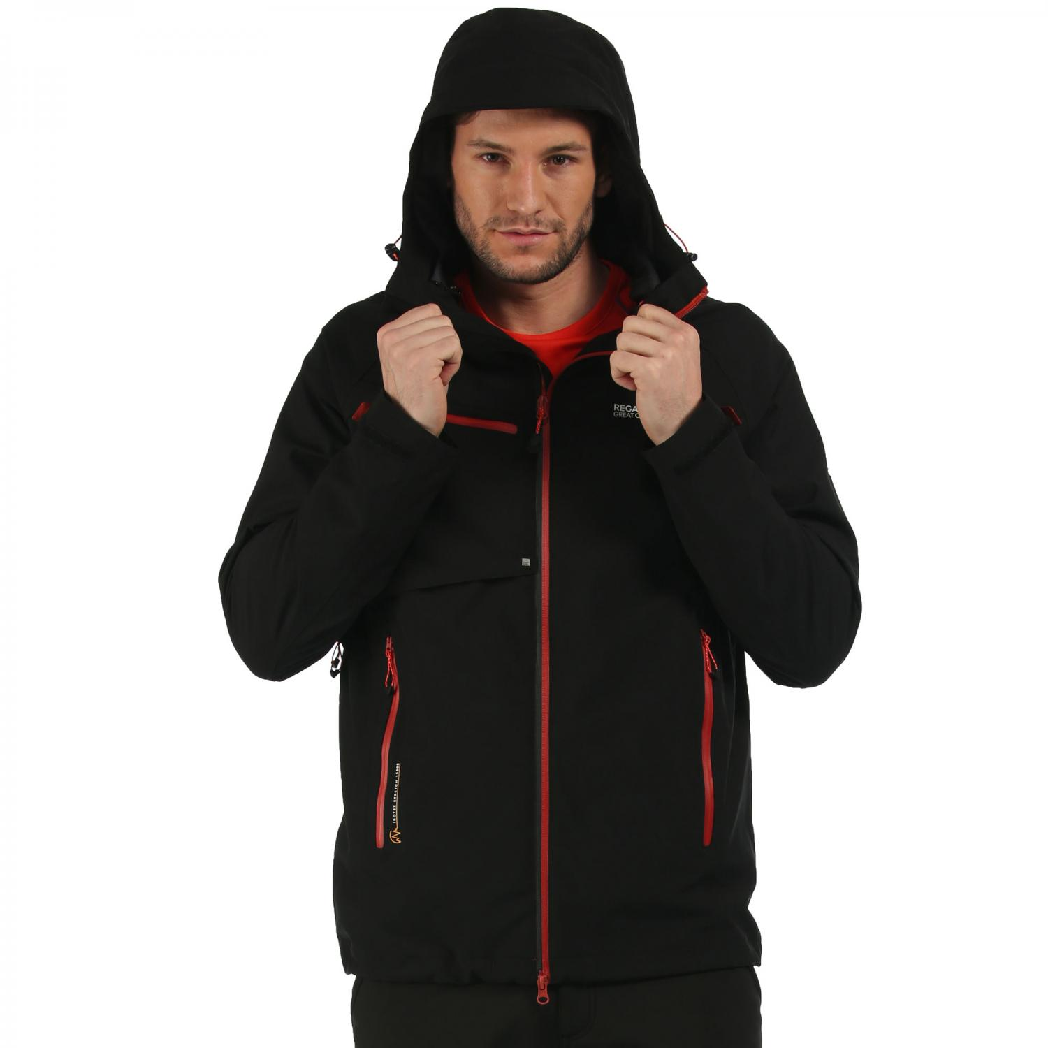 Glyder II 3 in 1 Jacket Black