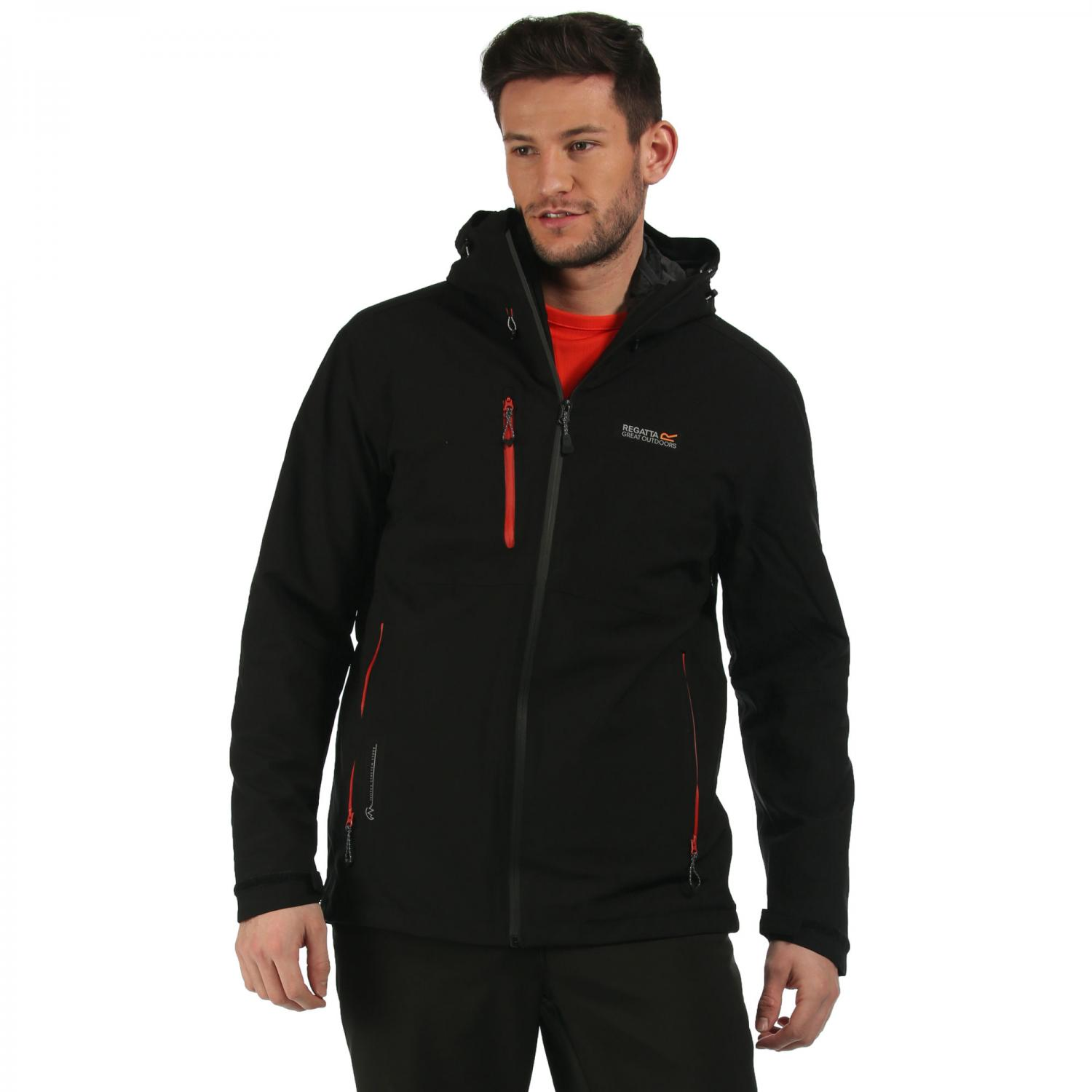 Wentwood 3 in 1 Jacket Black