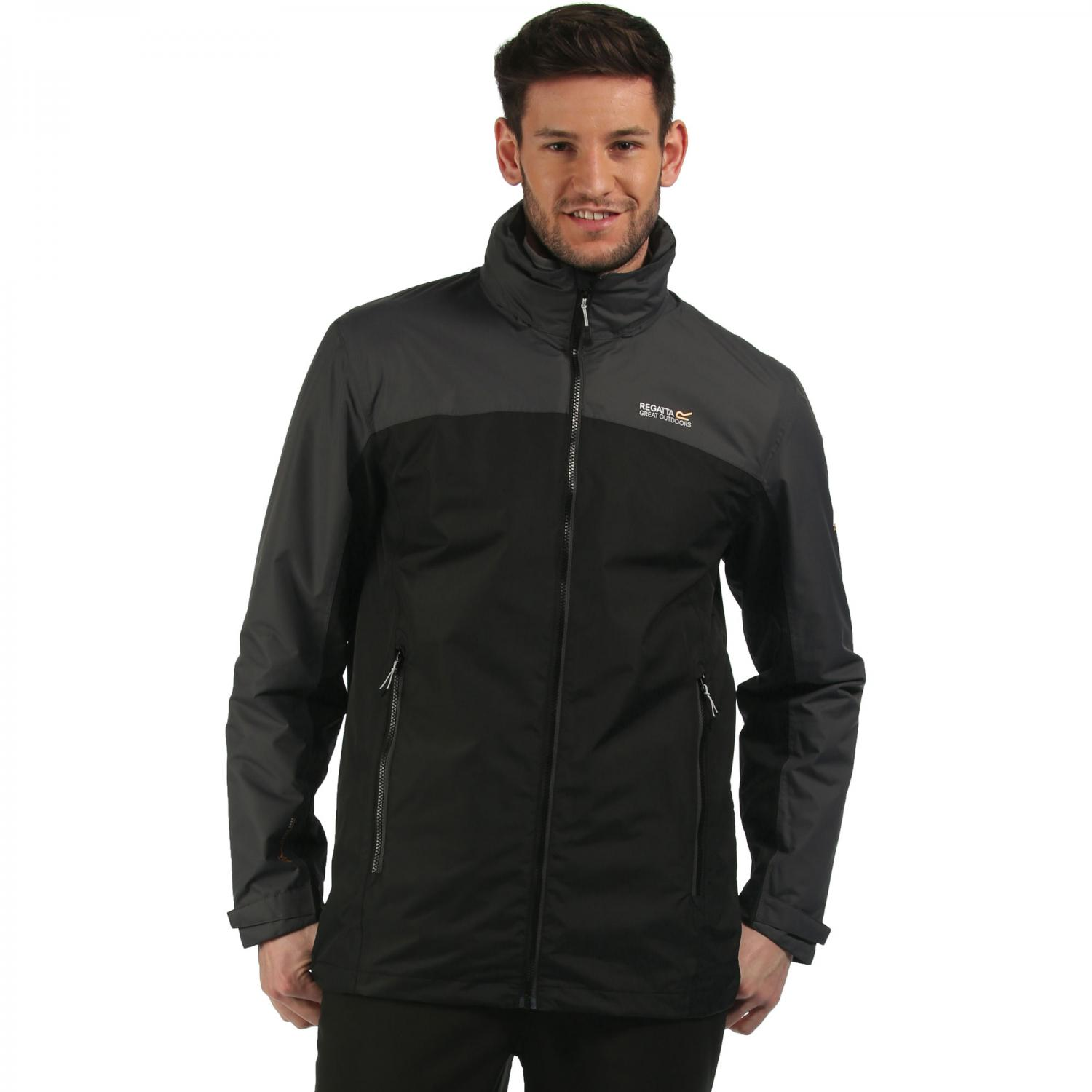 Backmoor 3 in 1 Jacket Black Seal Grey