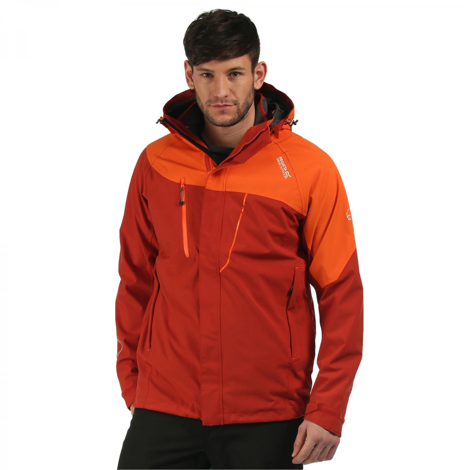 Sacramento II 3 in 1 Jacket Burnt Tikka Magma