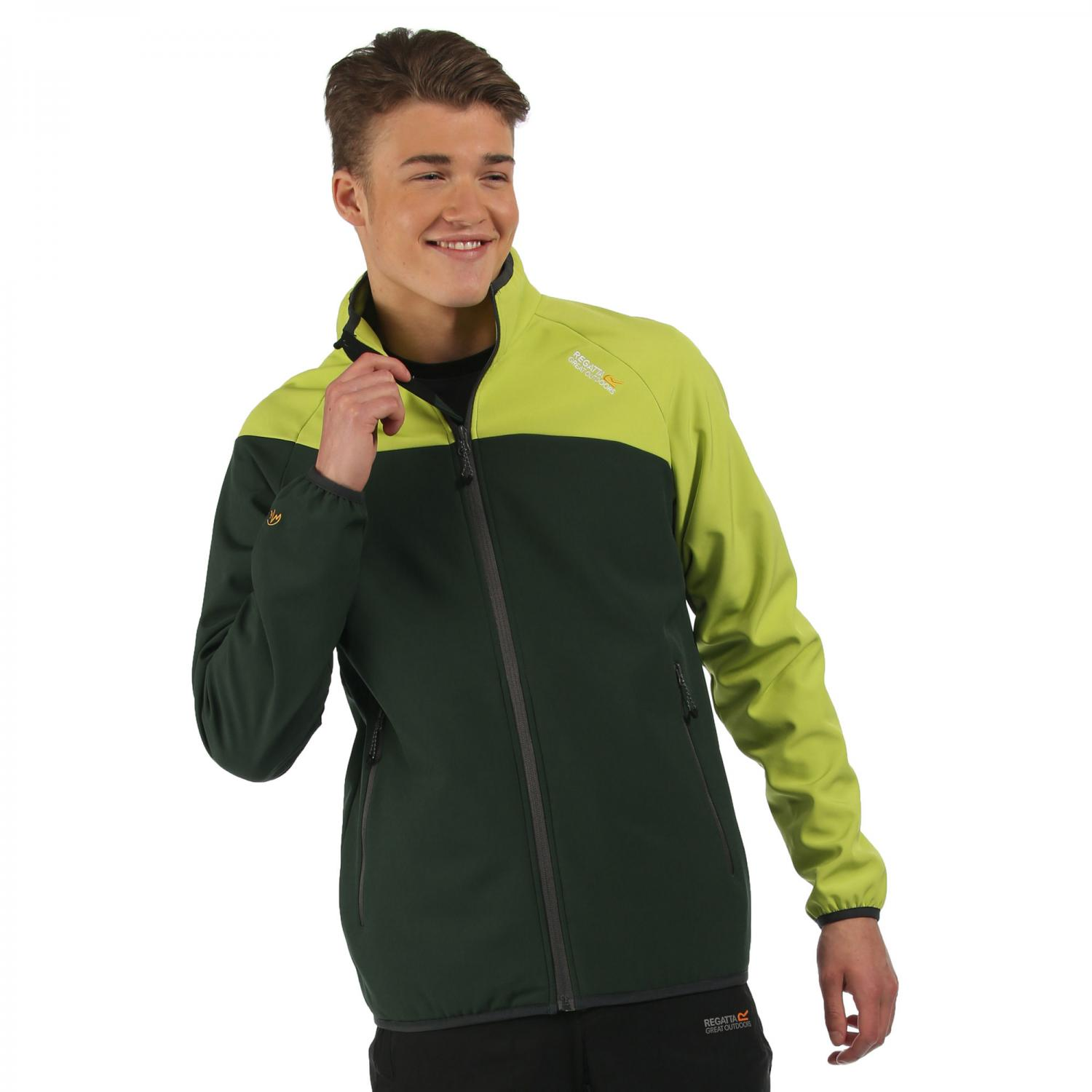 Nebraska IV Softshell Jacket Dark Spruce