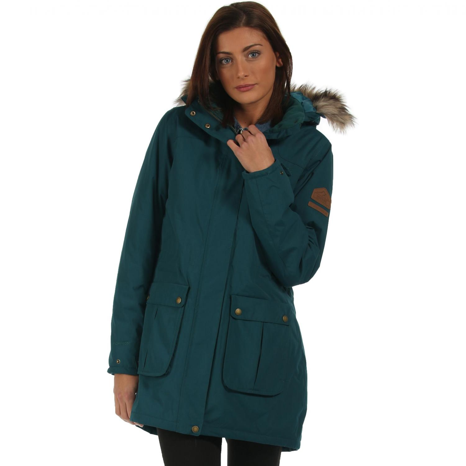 Schima Parka Jacket Deep Teal