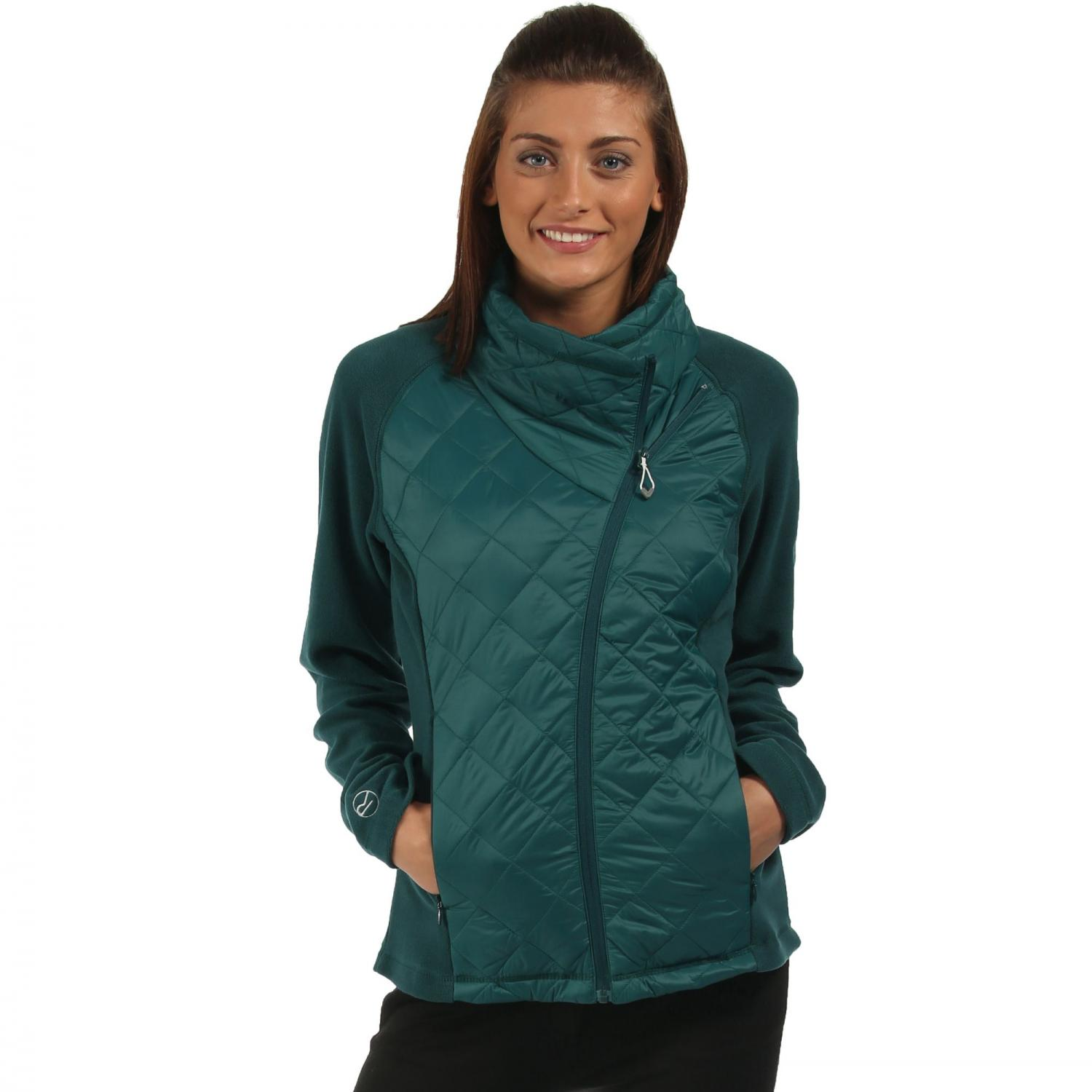 Womens Chilton Hybrid Jacket Deep Teal