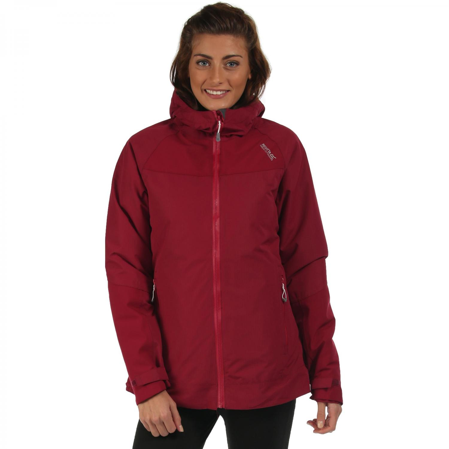Womens Grisedale Hybrid Jacket Beetroot