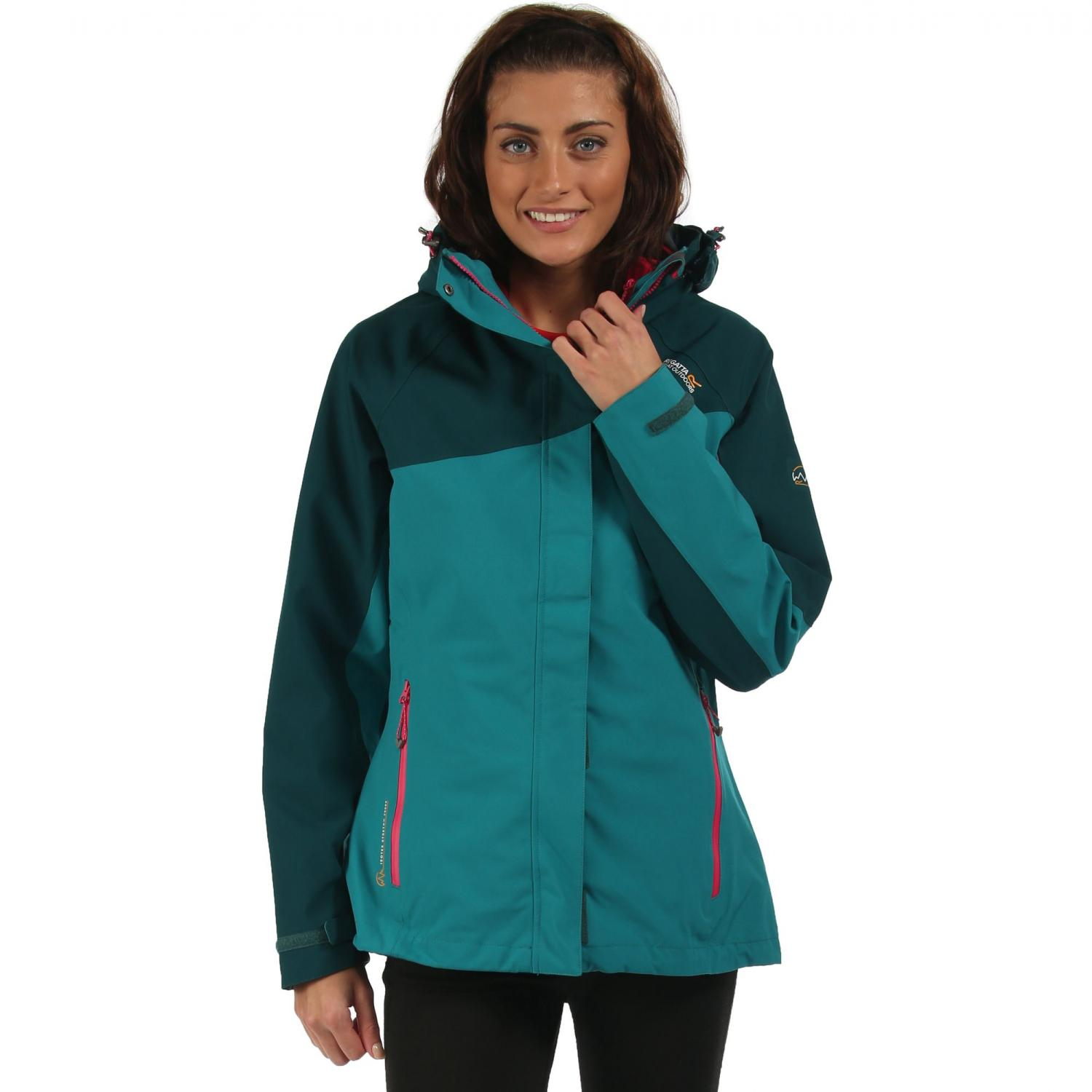 Carletta 3 in 1 Jacket Deep Lake Teal