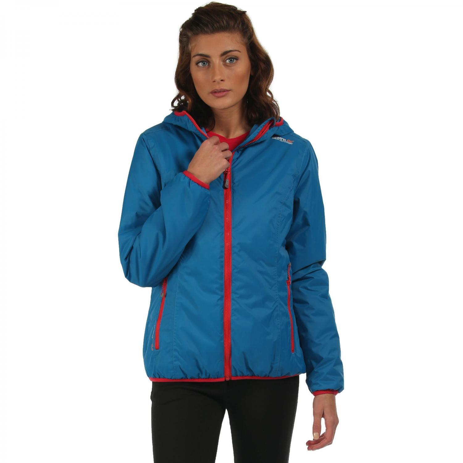 Womens Tuscan Jacket Petrol Blue