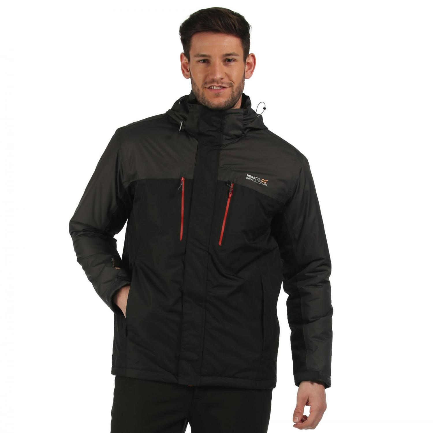 Fabens Jacket Black Ash