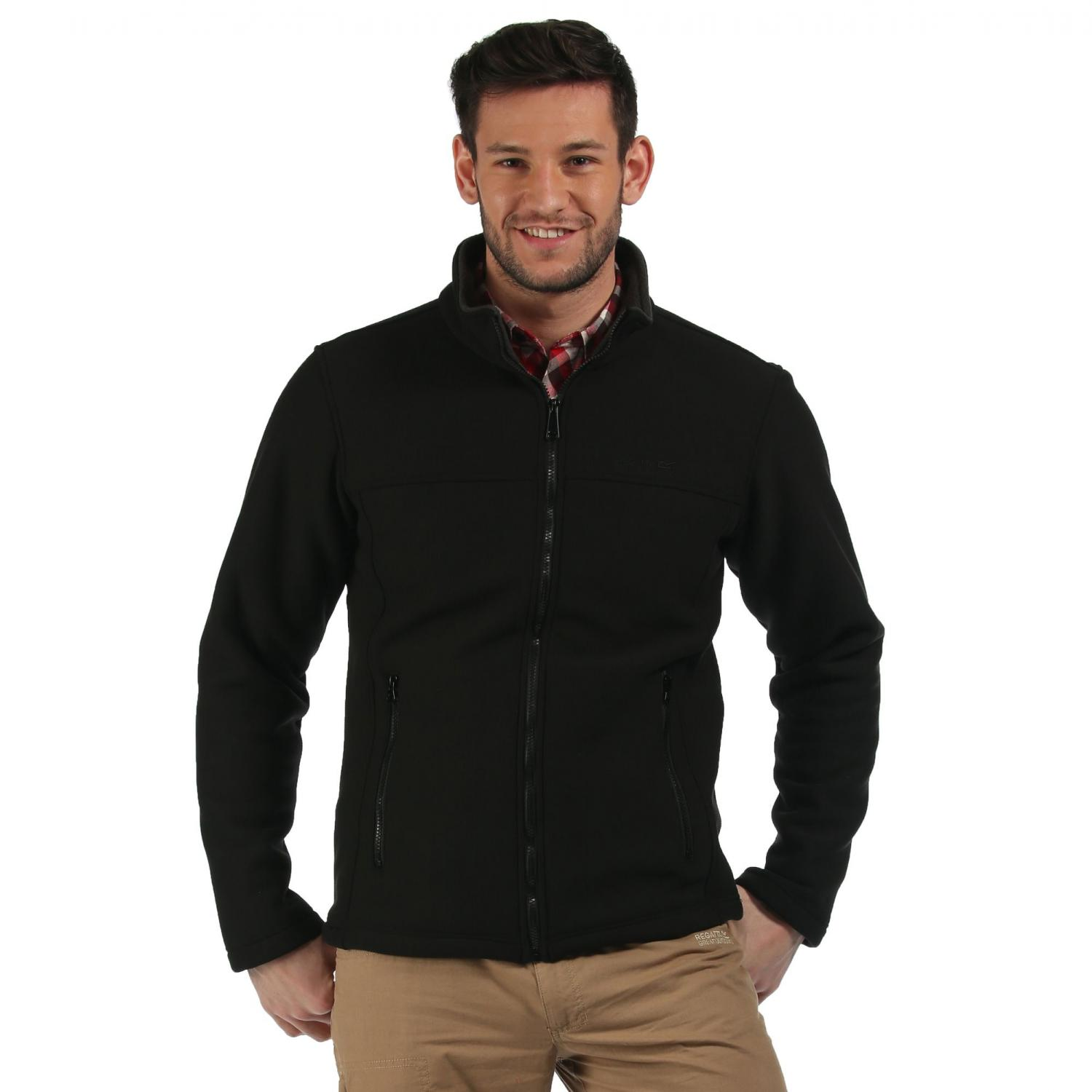 Gibben Fleece Black Ash