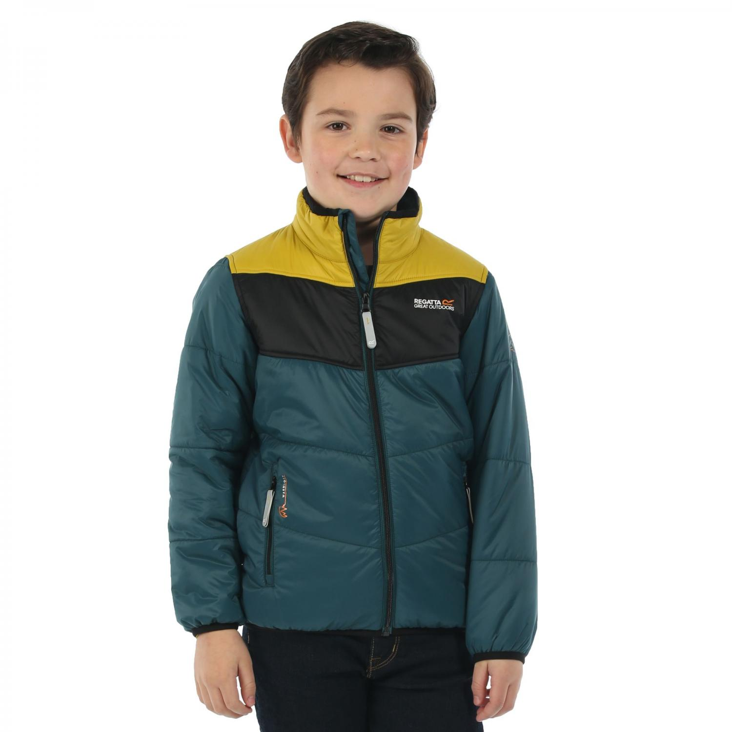 Icebound II Jacket Teal Black Moss