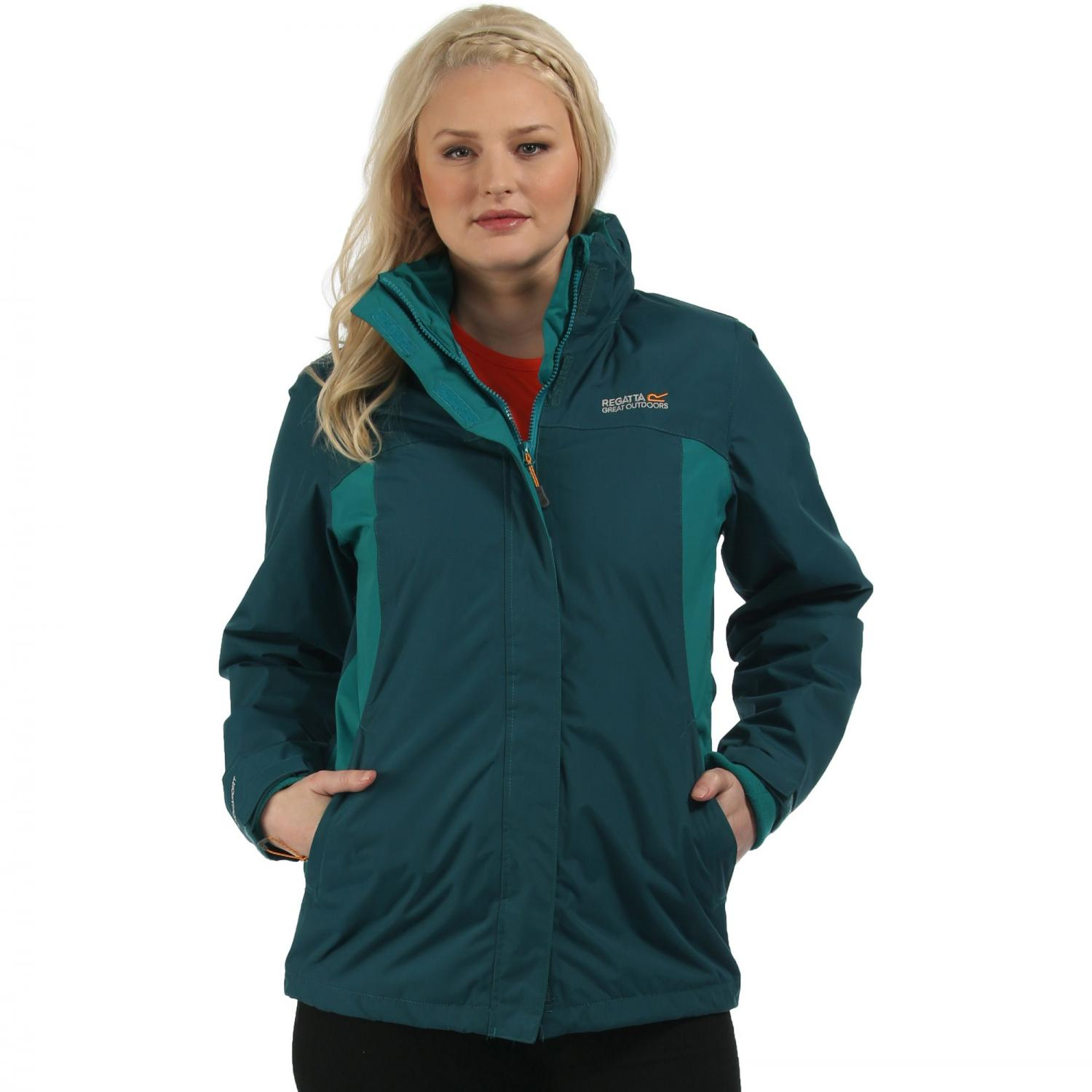 Preya III 3 in 1 Jacket Deep Teal Lake