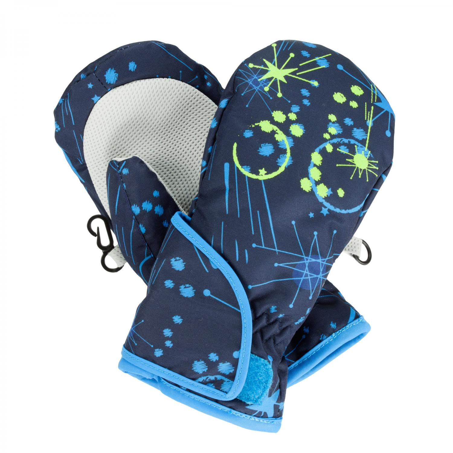 Kids Padded Spatter Mitts II Navy Galaxy