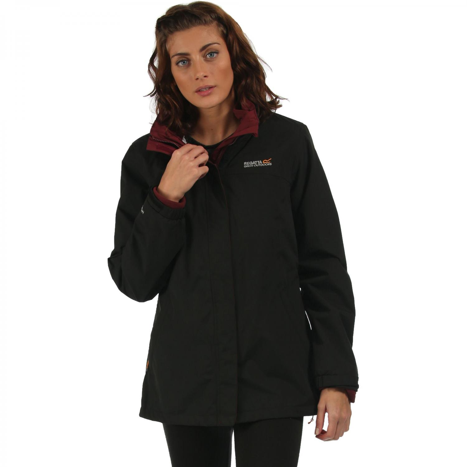 Preya III 3 in 1 Jacket Black Mulberry