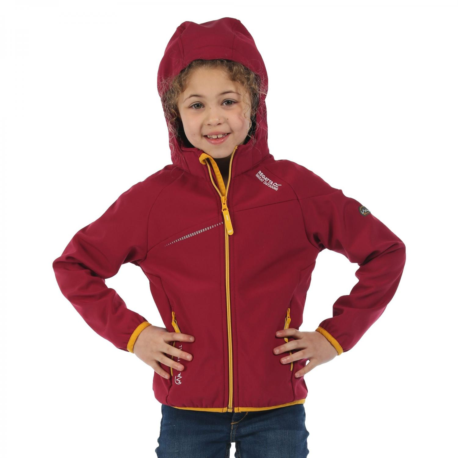 Hydronic Softshell Jacket Beetroot Glowlight