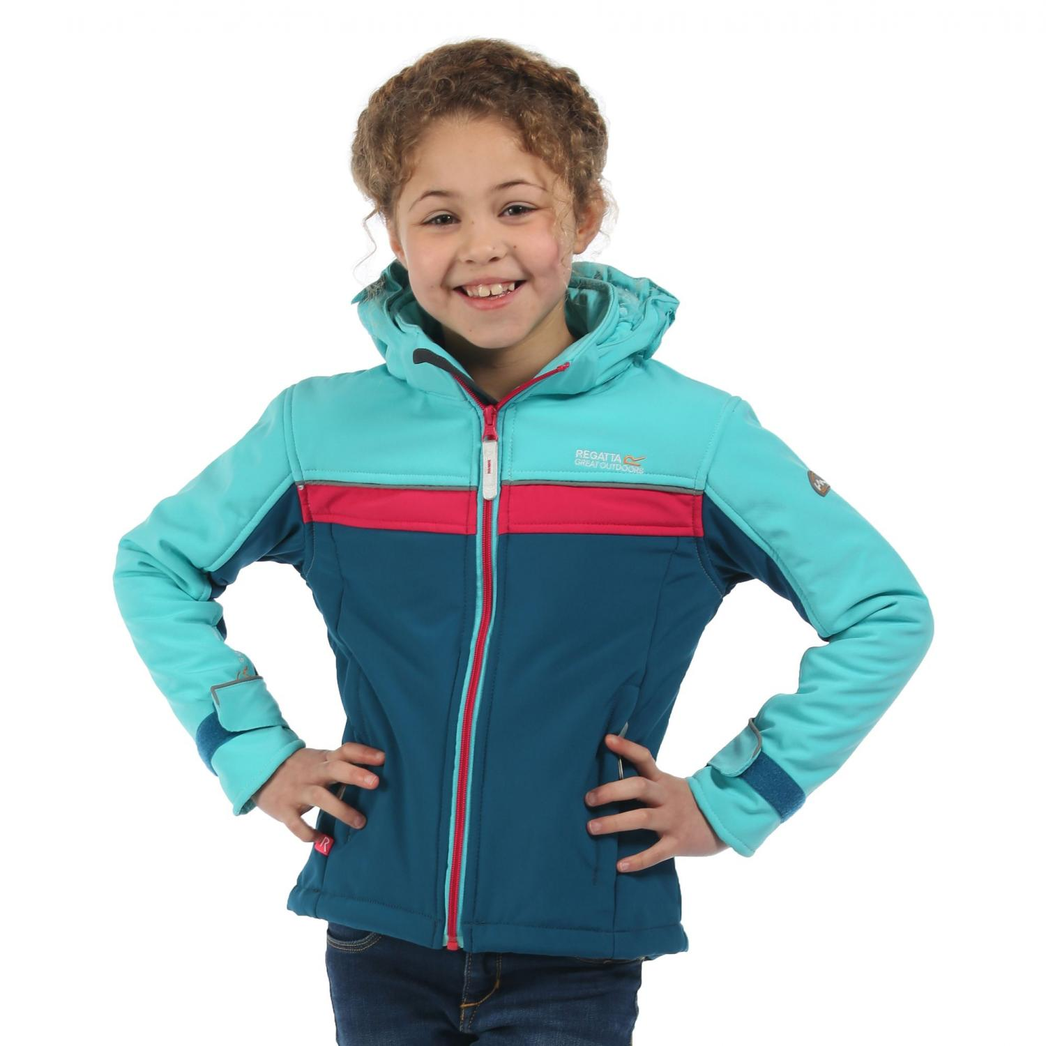 Drizzle Softshell Jacket Blue Dutchess