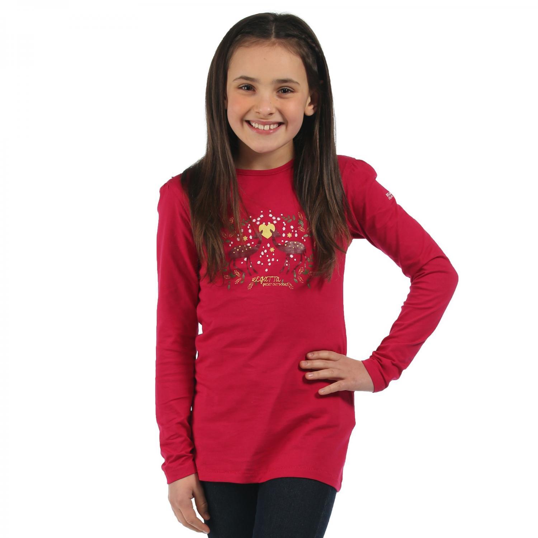 Wilder Long Sleeve T-Shirt Dark Cerise