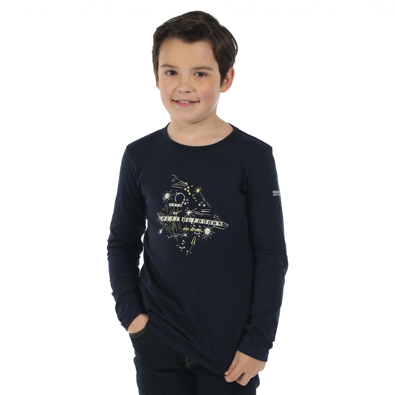 Wilder Long Sleeve T-Shirt Navy