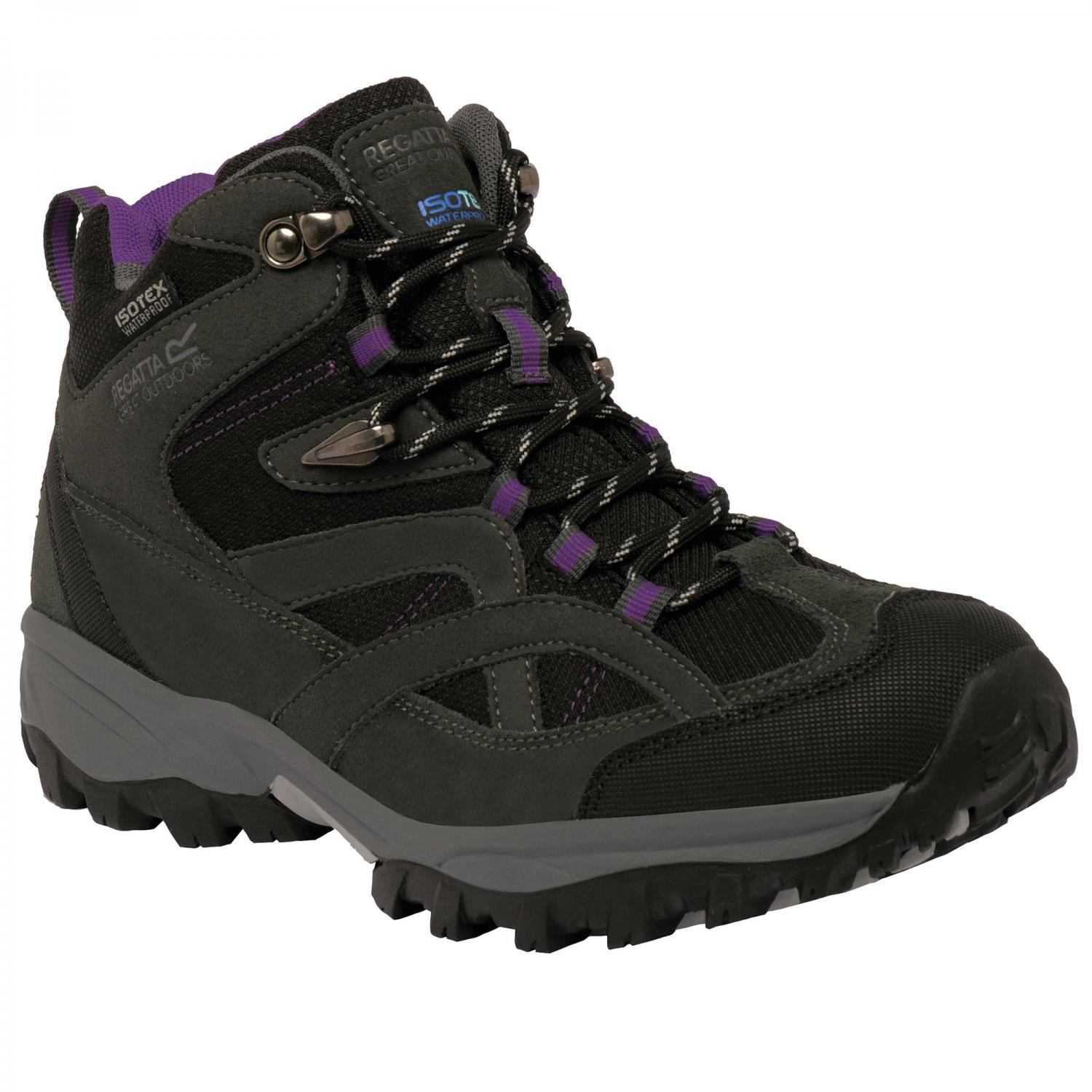 Lady Alderson Mid Walking Boot Briar Purple