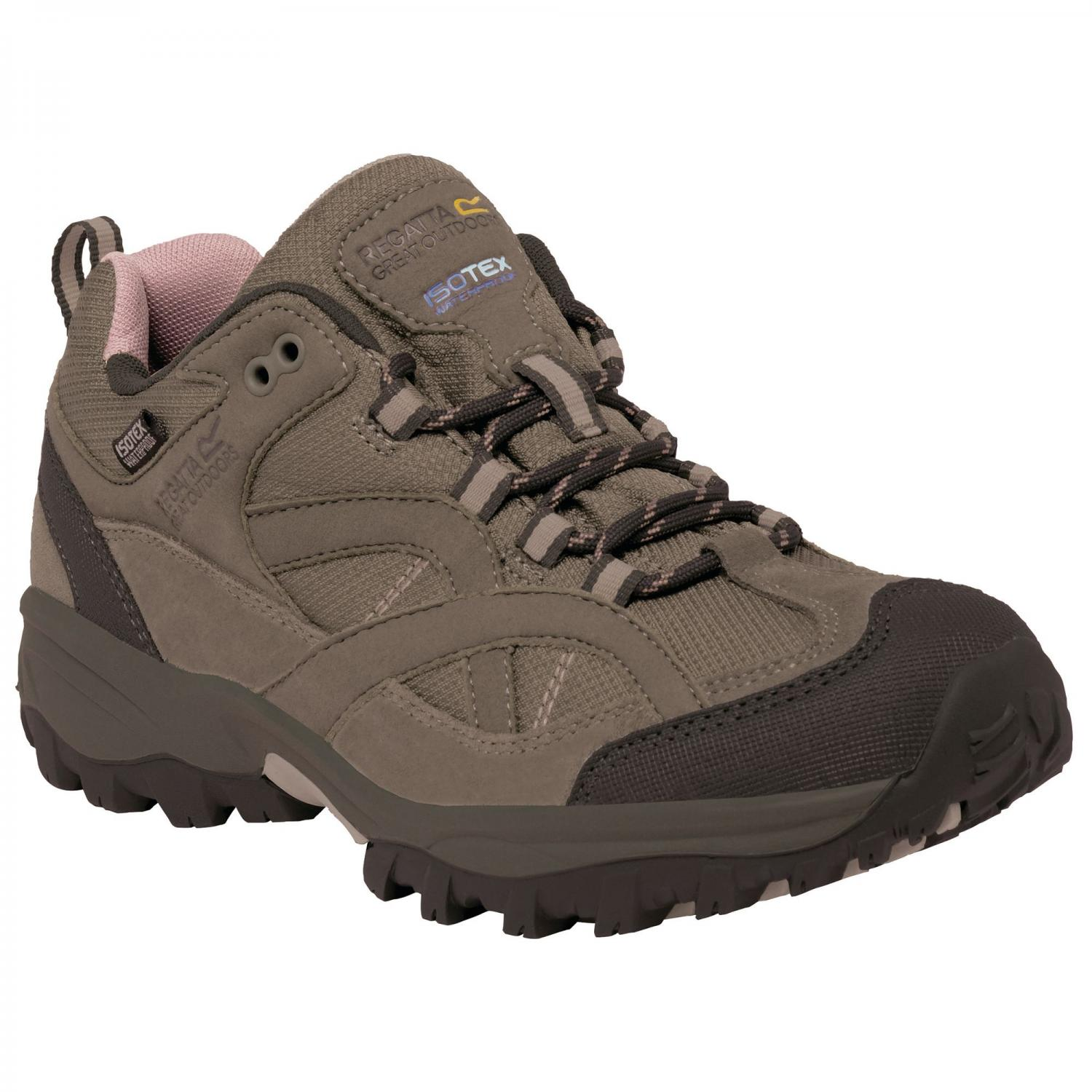 Lady Alderson Low Walking Shoe Walnt DuskyR