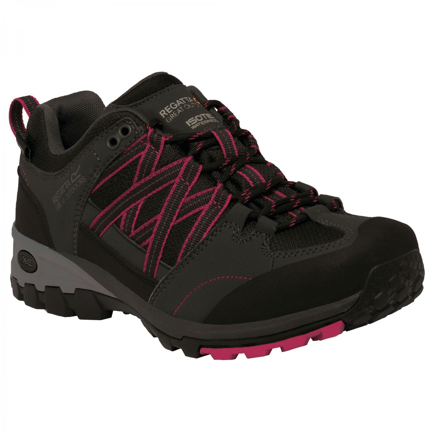 Lady Samaris Low Hiking Shoe Briar Cerise