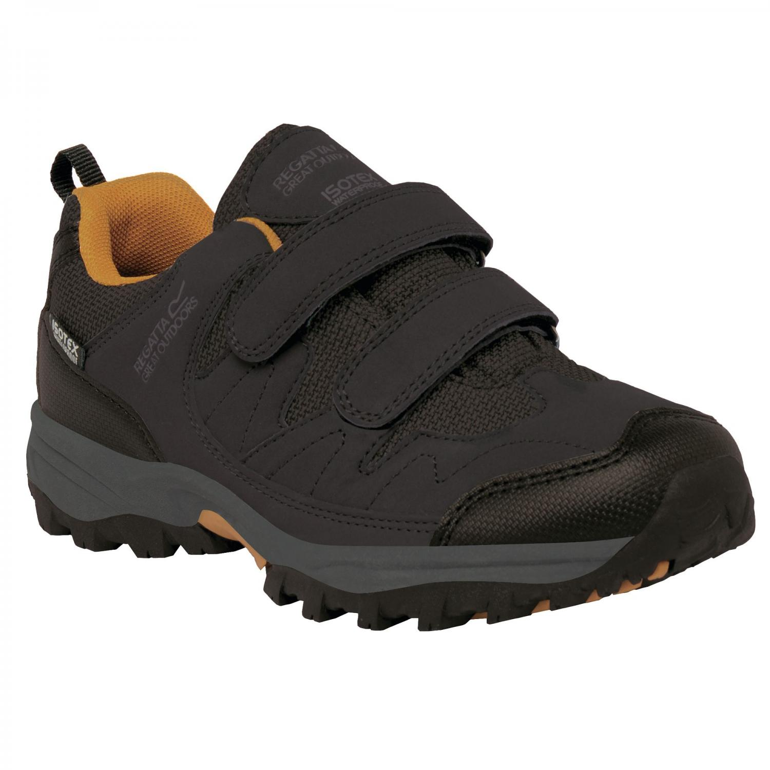 Helmshore Low Junior Walking Shoe Briar Gold