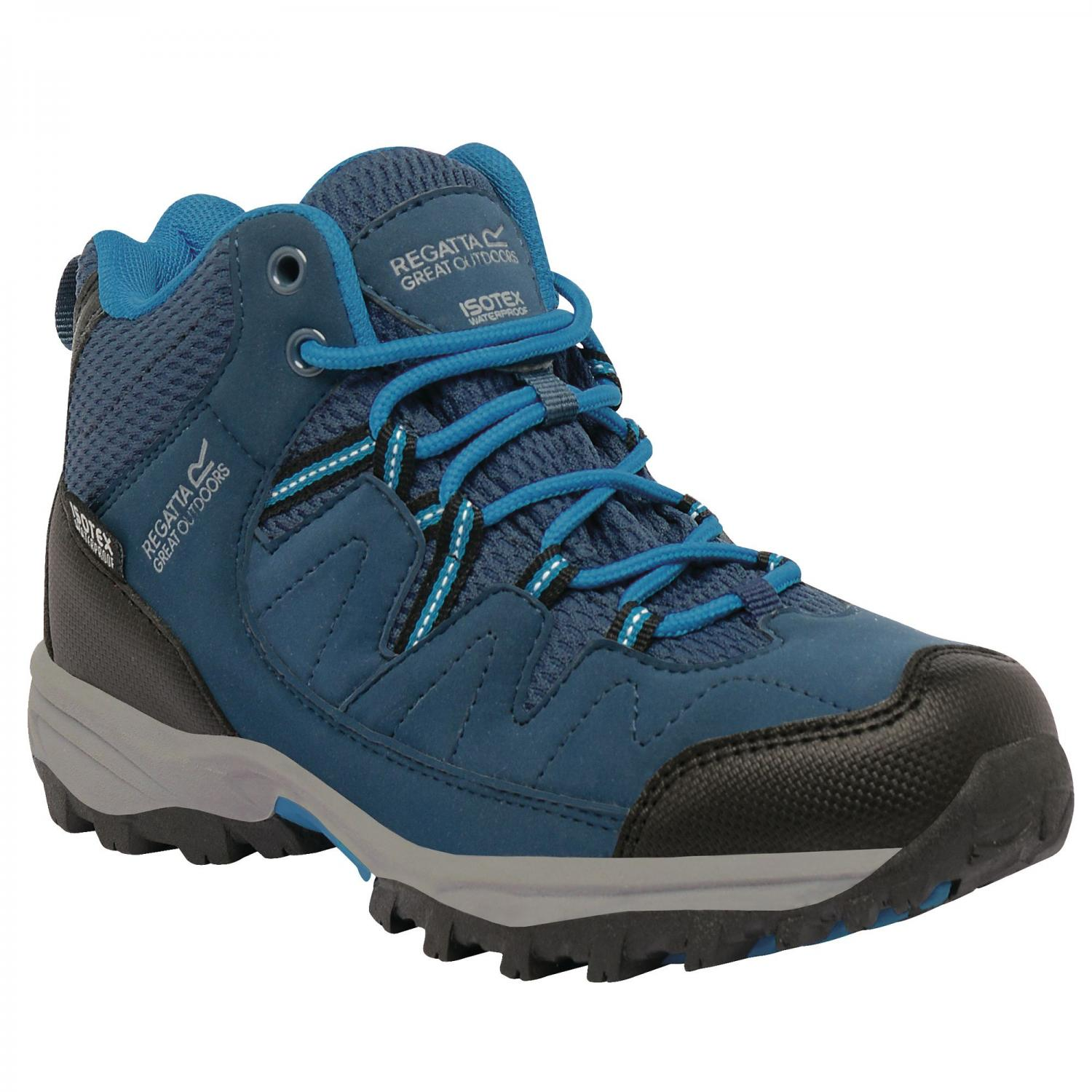 Holcombe Mid Junior Walking Boot Blue Methyl