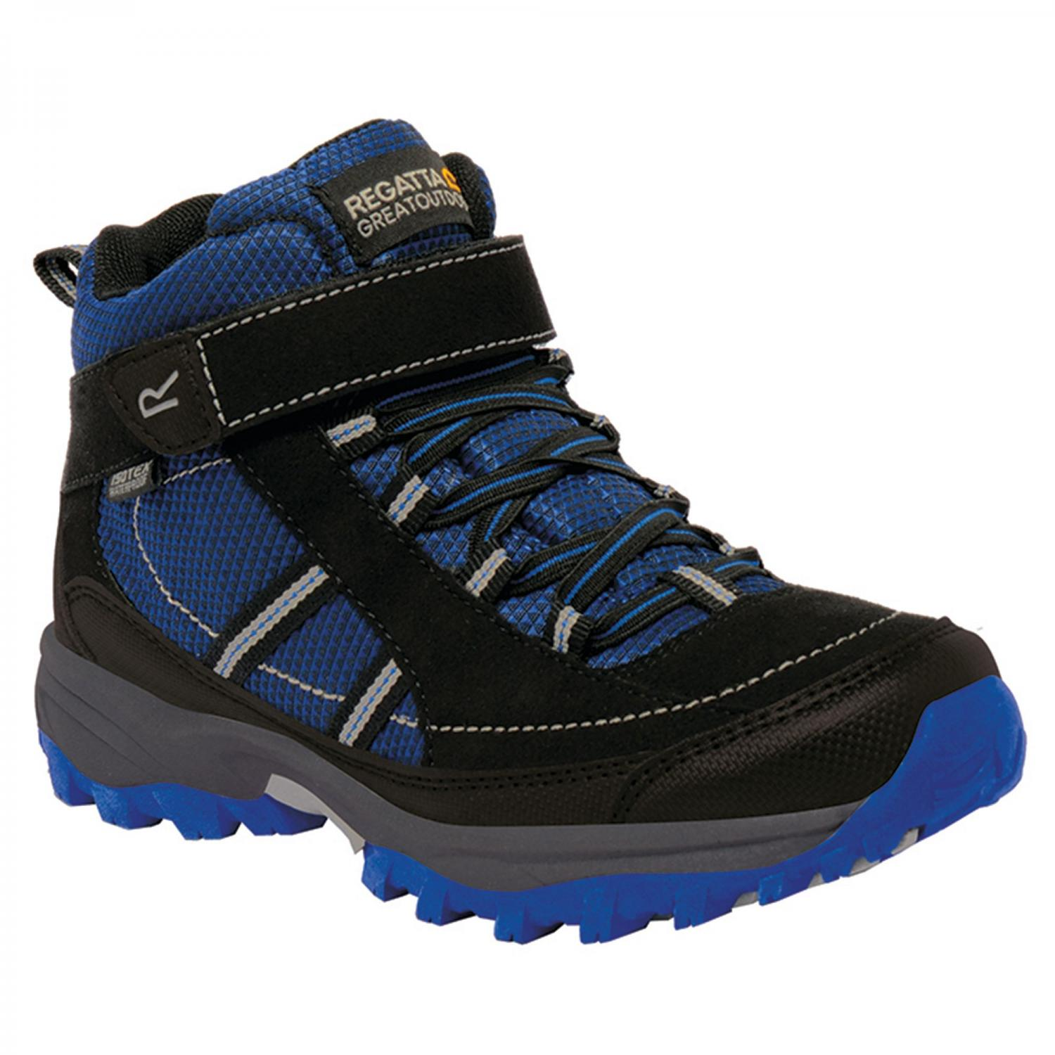 Trailspace II Mid Junior Walking Boot Blue Black