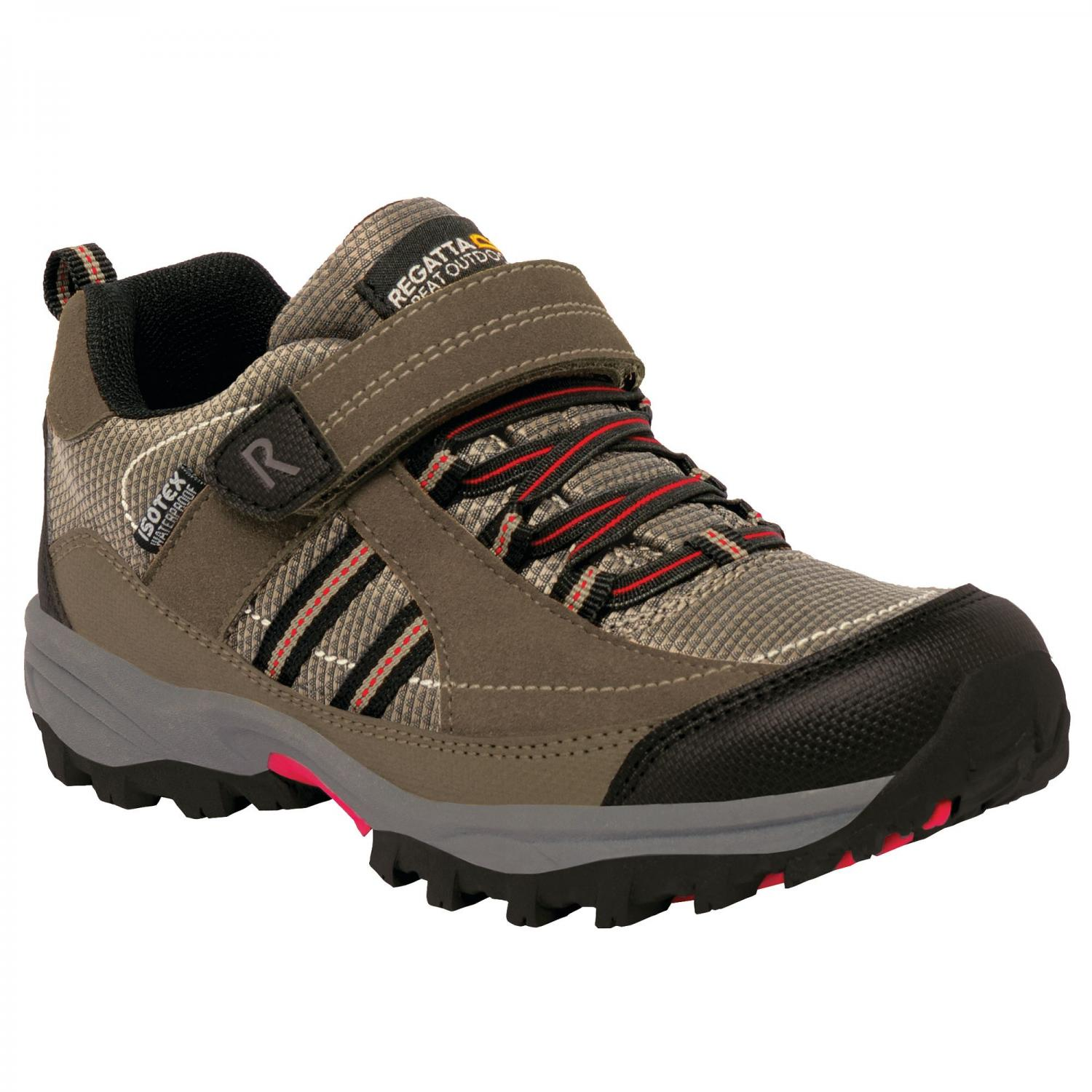 Trailspace II Low Junior Walking Shoe Kangaroo Black